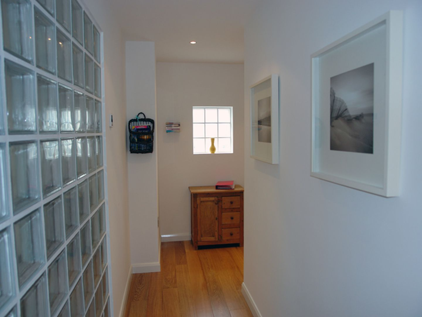 11 Hawkers Court Glass Walled Hallway