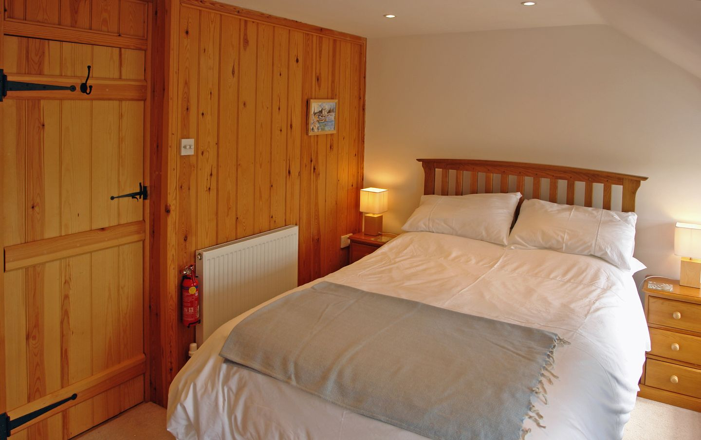 2 Halvosso Cottages Penryn Double Bedroom