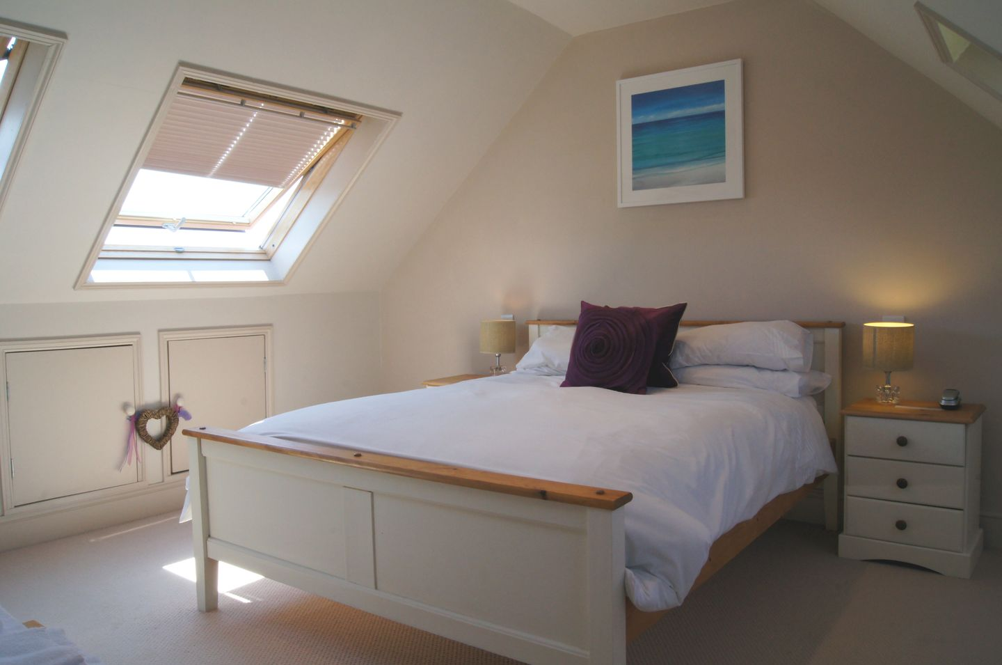 7 Park Road Fowey Master Double Bedroom