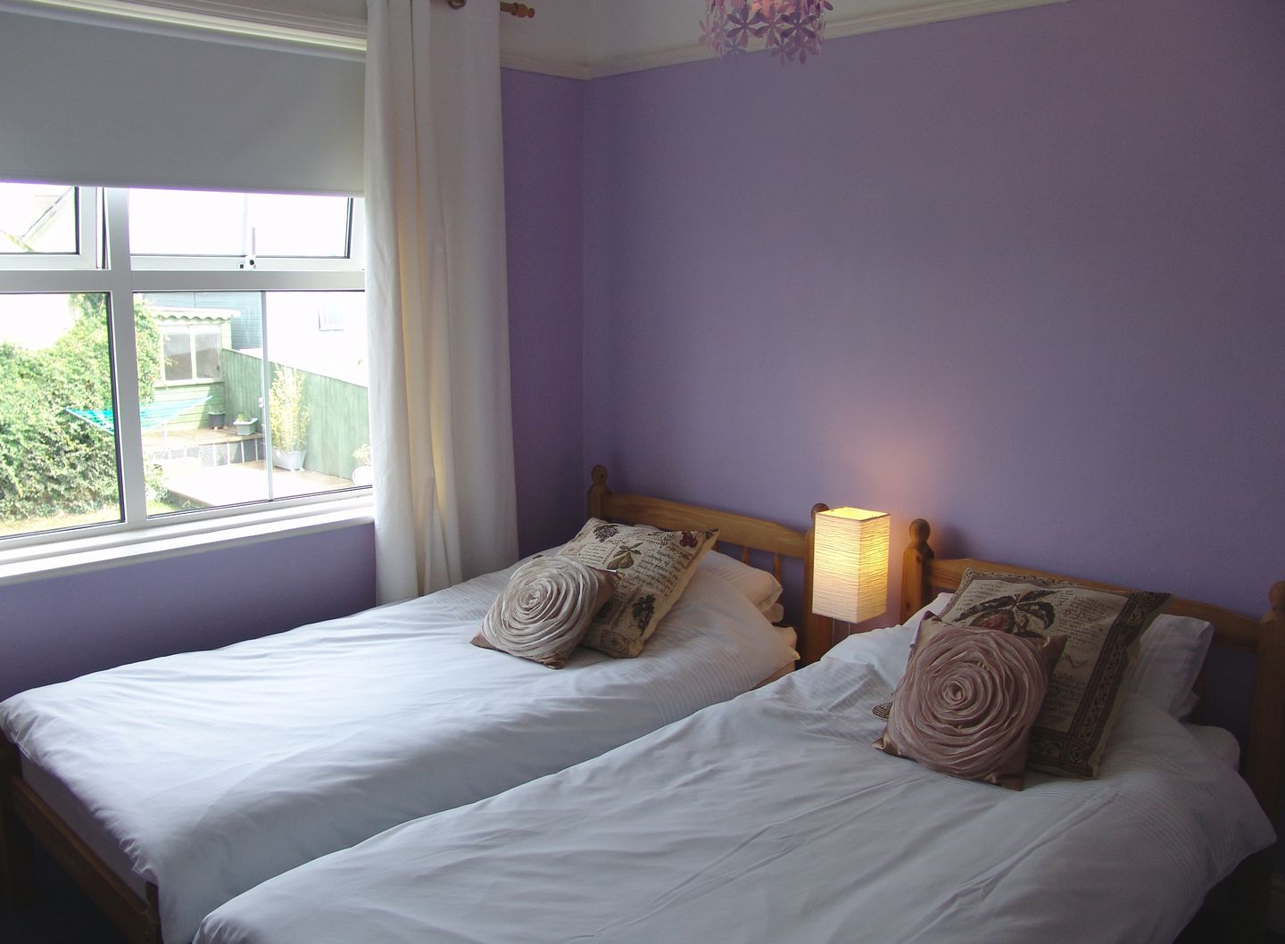 7 Park Road Fowey Twin Bedroom