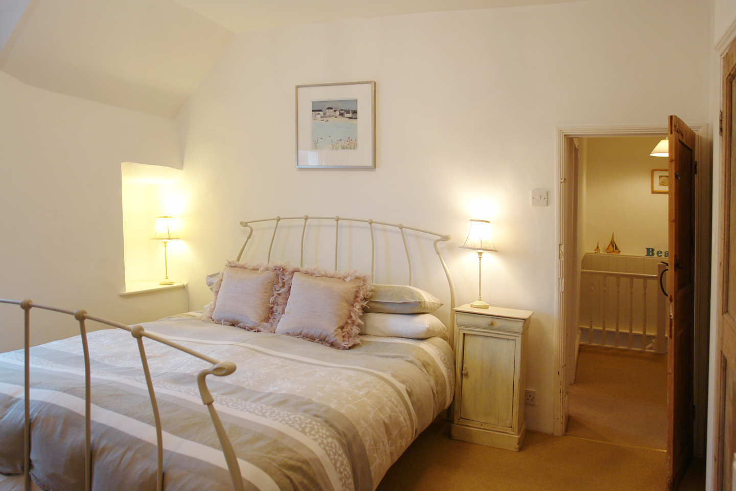 April Cottage Coverack Master Double Bedroom