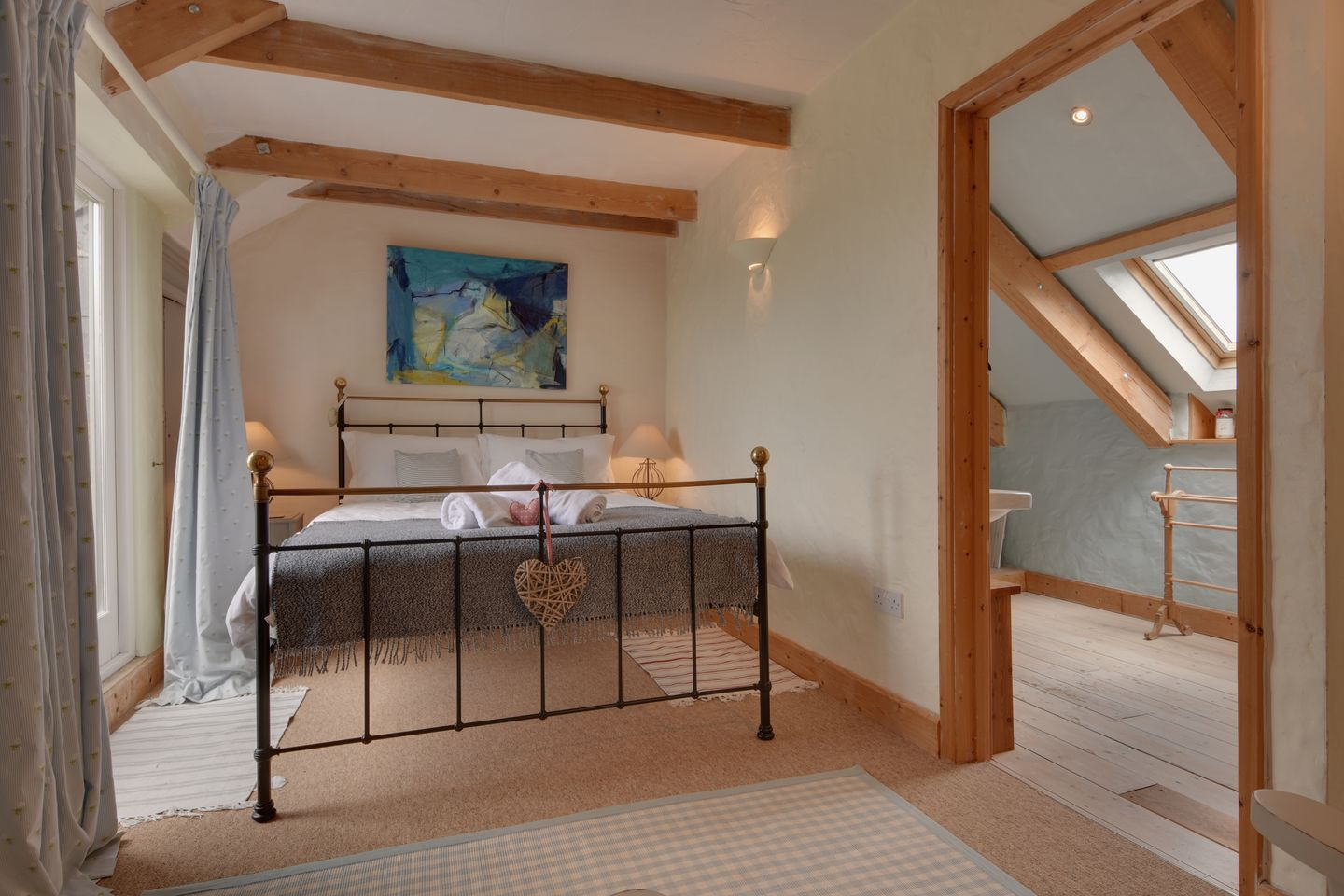 Barn Cottage Trelights Double Bedroom With Ensuite