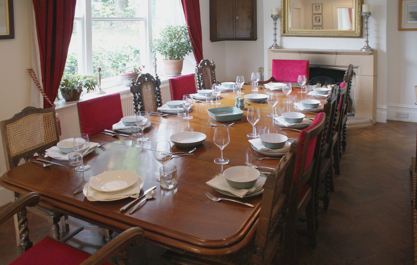 Beechlands Chagford Dining Room