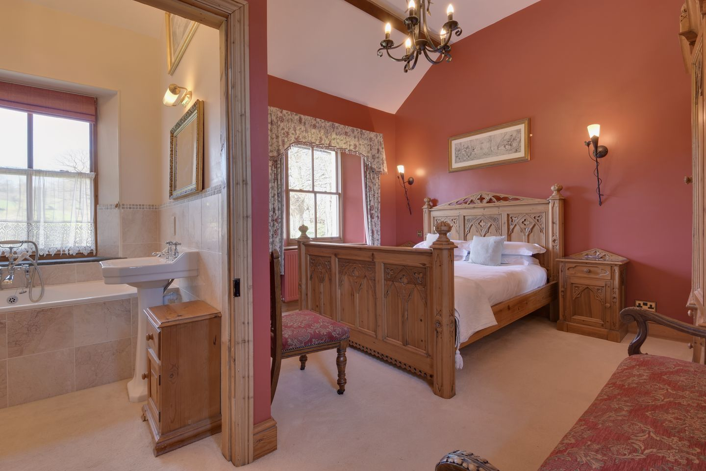 Beechlands Chagford En Suite Double Bedroom