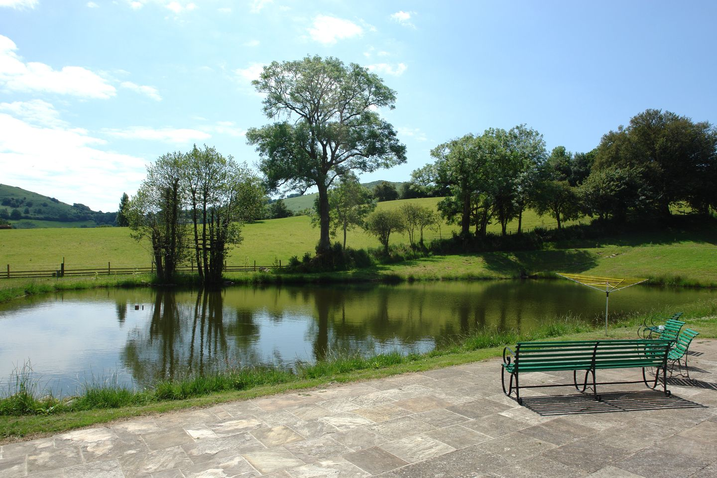 Beechlands Chagford Holiday Cottage Pond