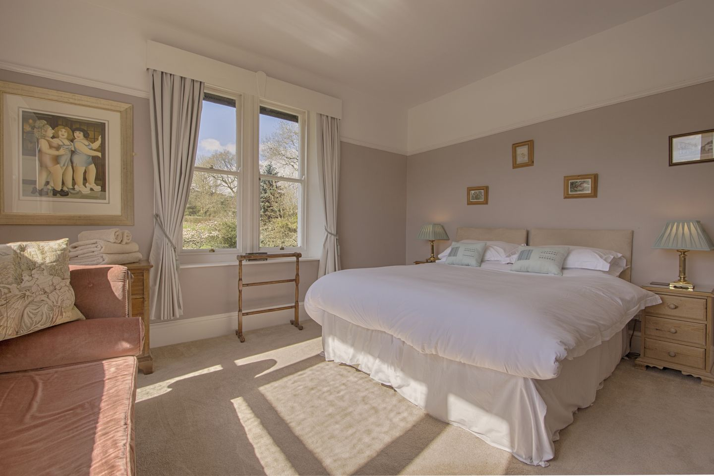 Beechlands Chagford Light Double Bedroom