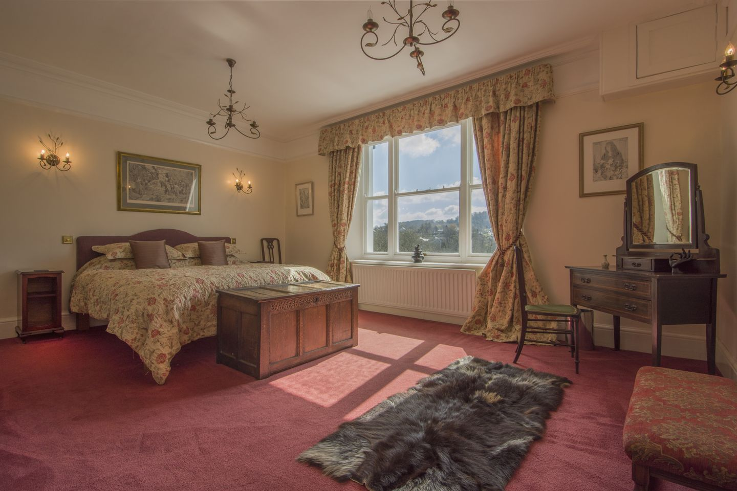Beechlands Chagford Master Double Bedroom
