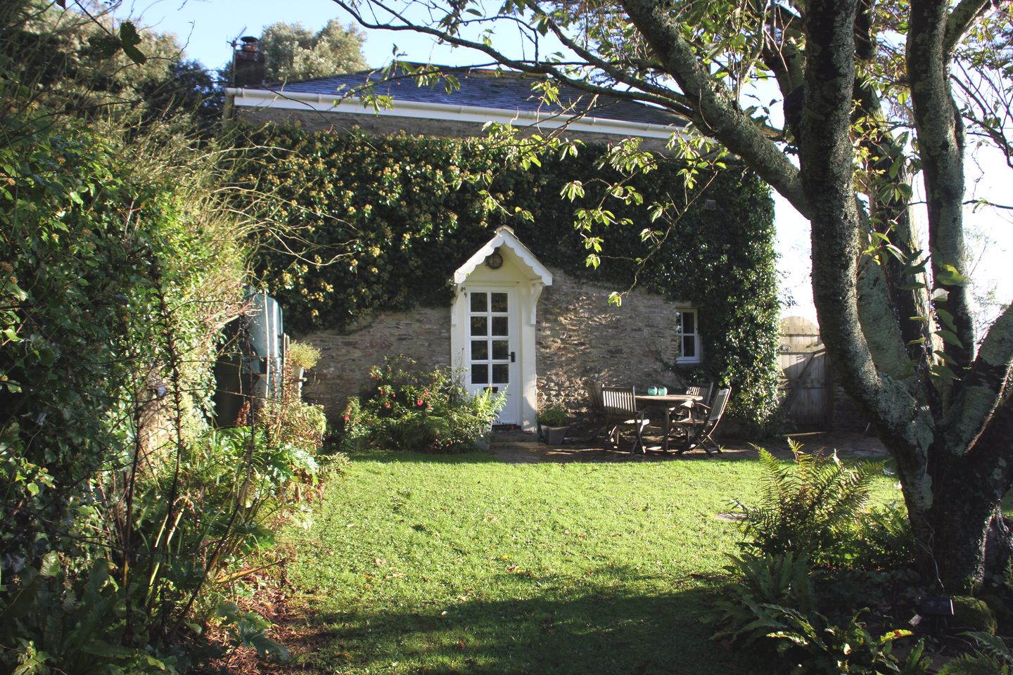 Coach House Cottage Strete Gardens To House