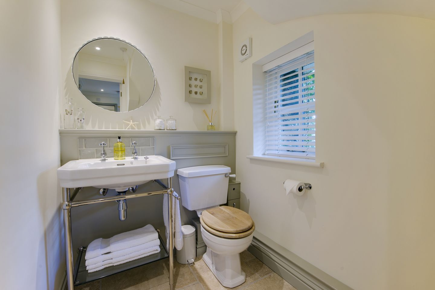 Coach House Cottage Strete Toiletand Wc