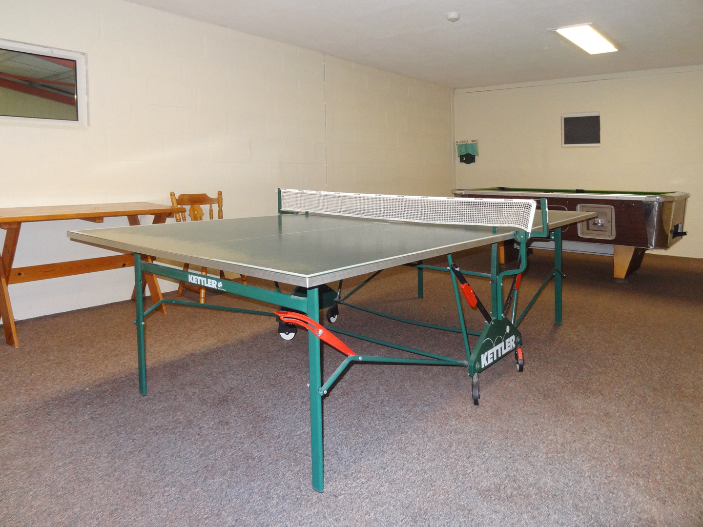 Columbine Cottage Bude Games Room