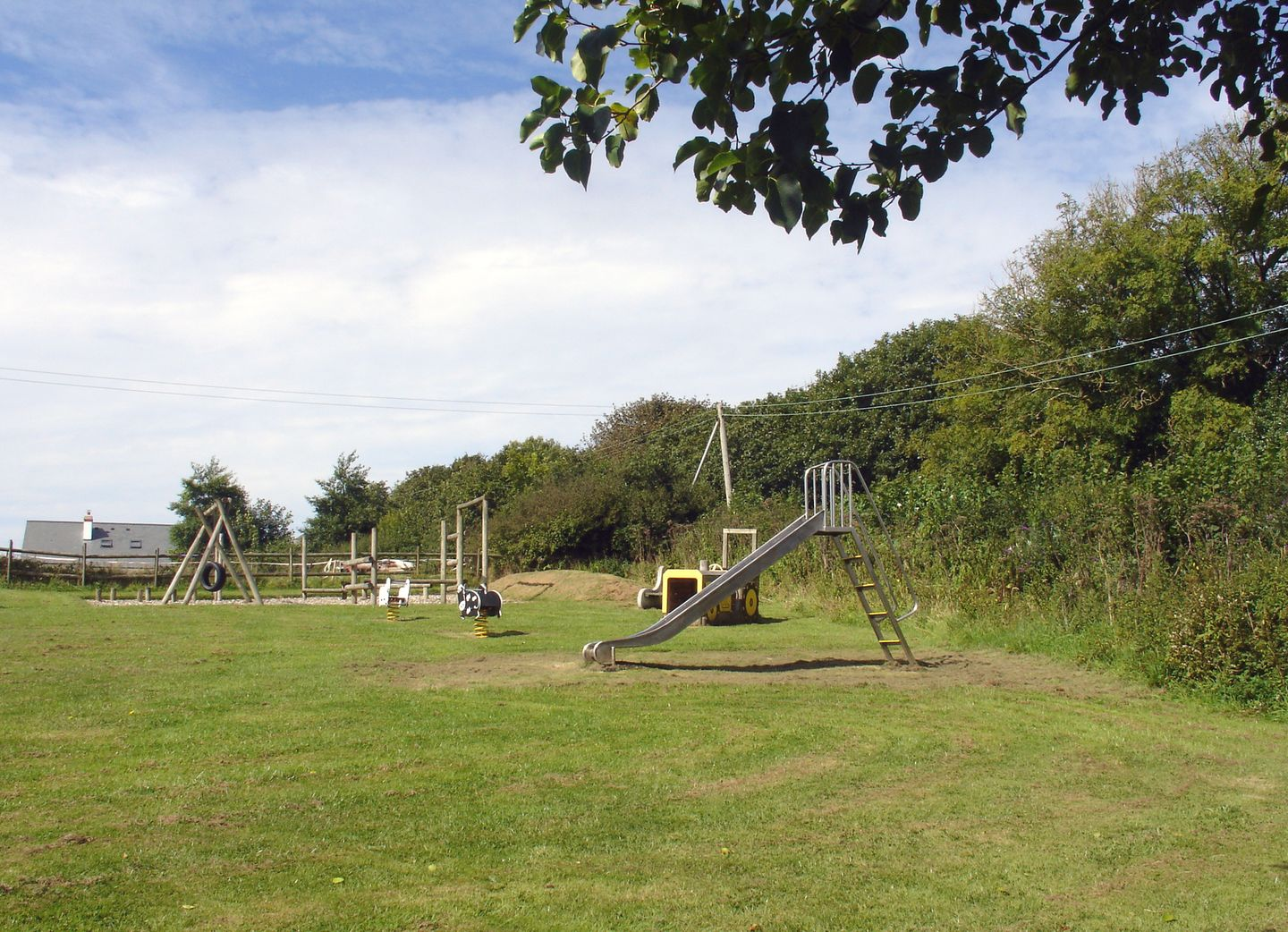 Columbine Cottage Bude Play Area