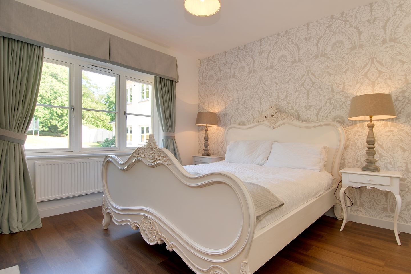 Compton House Anexe Double Bedroom