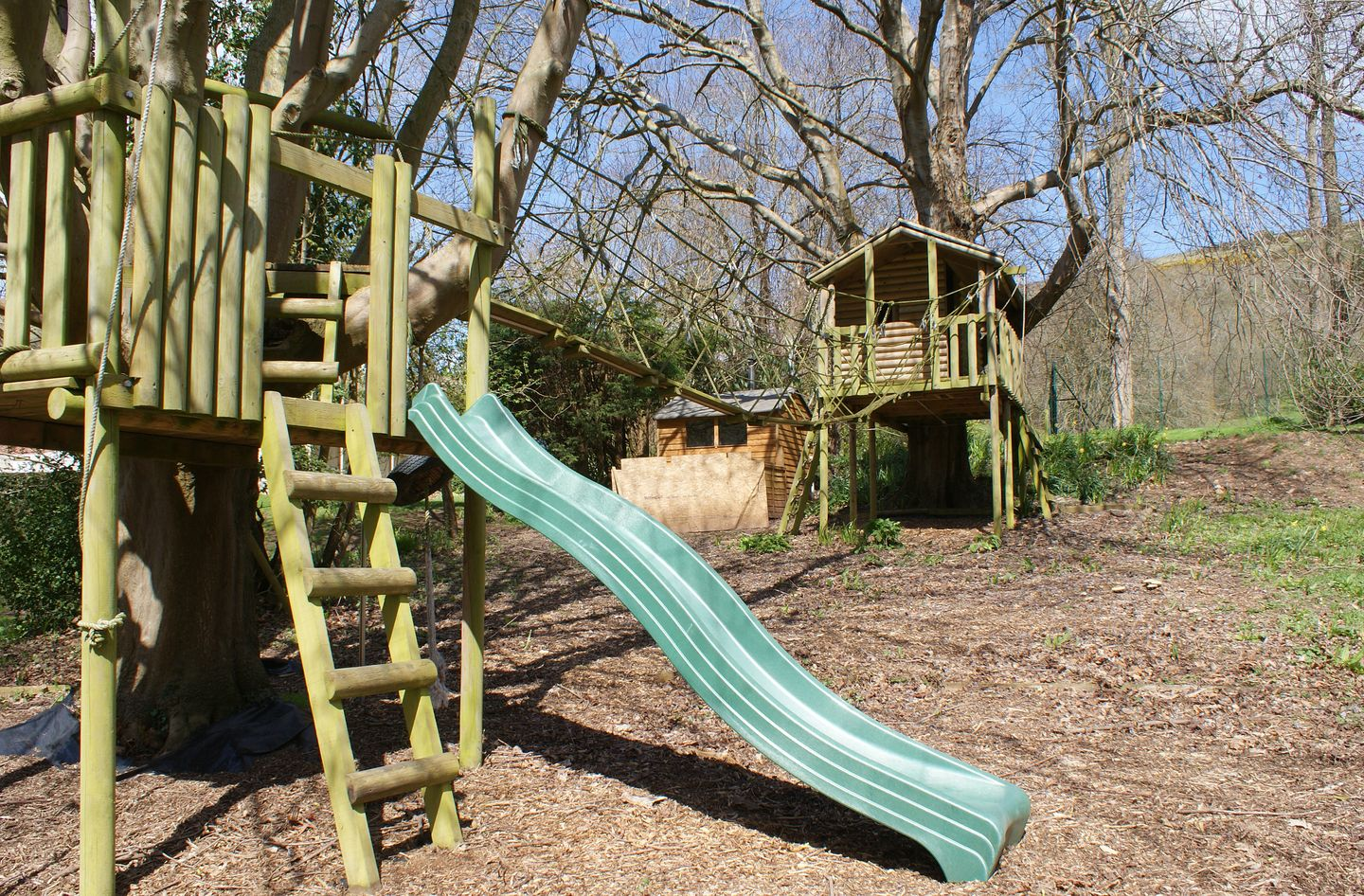 Compton House Play Area In Woods