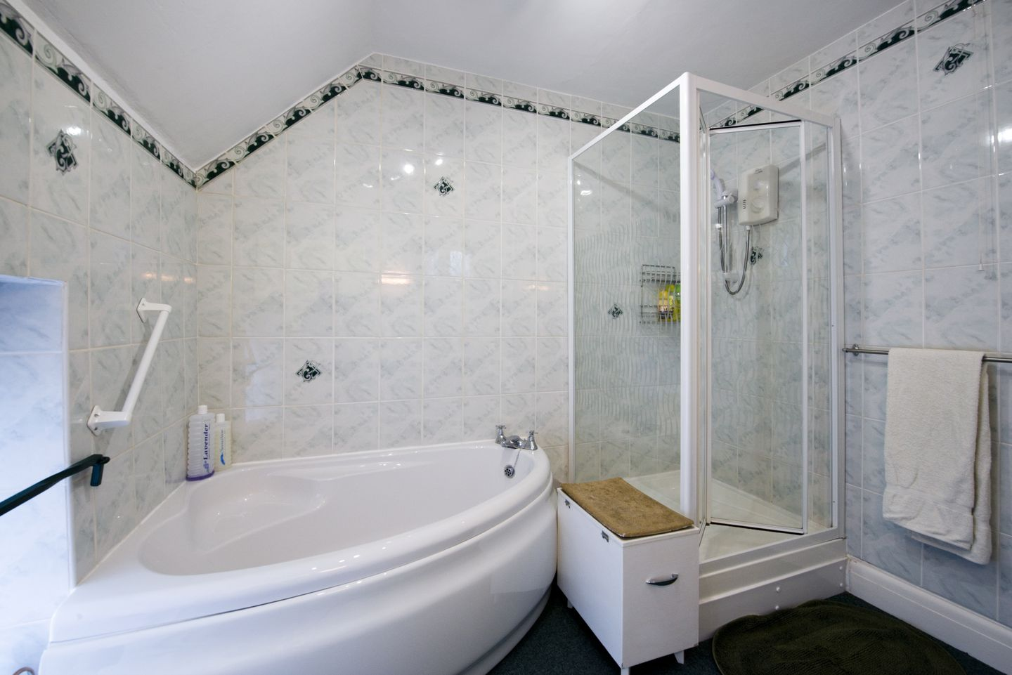 Dial House Cottage Chagford Large Bathroom