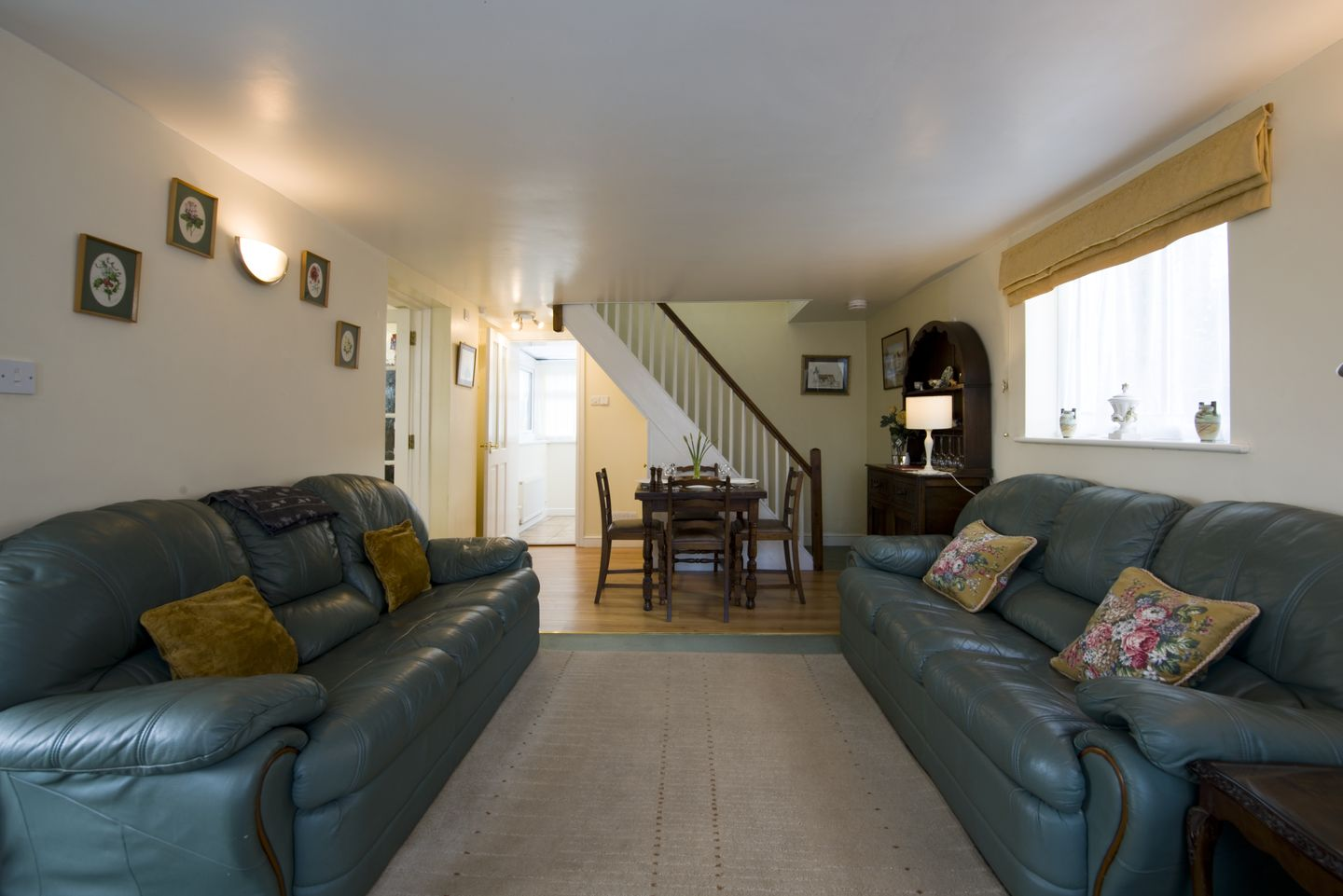 Dial House Cottage Chagford Lounge Long View