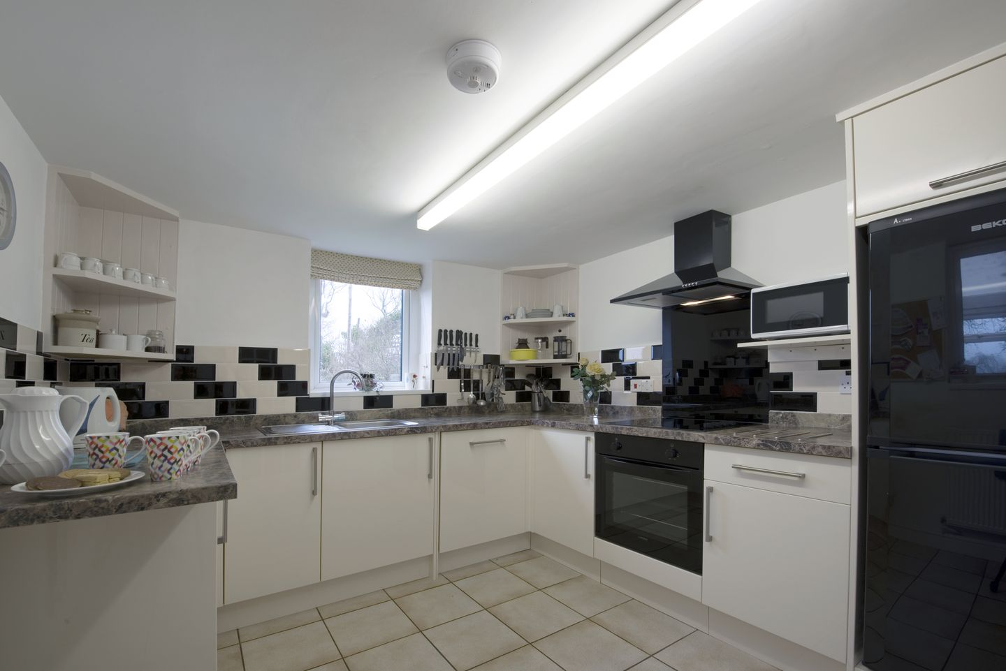 Dial House Cottage Chagford Modern Kitchen