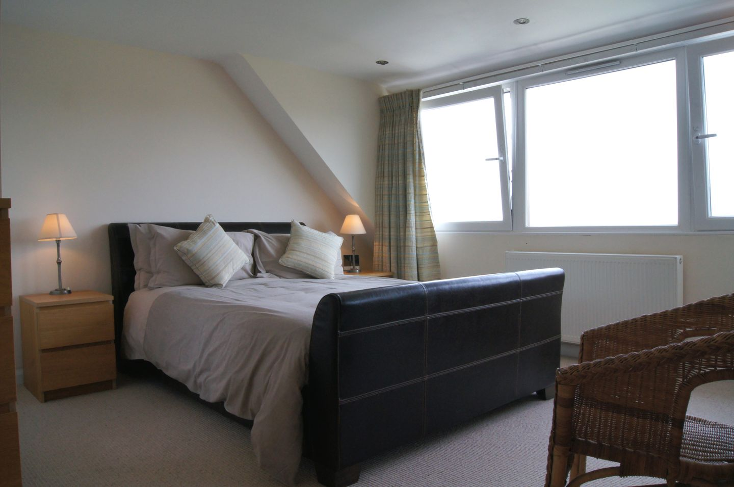 Firm Anchor Salcombe Double Bedroom With View