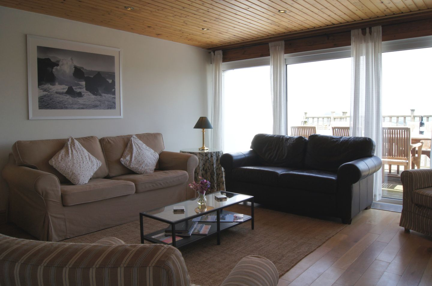 Firm Anchor Salcombe Living Room With Balcony
