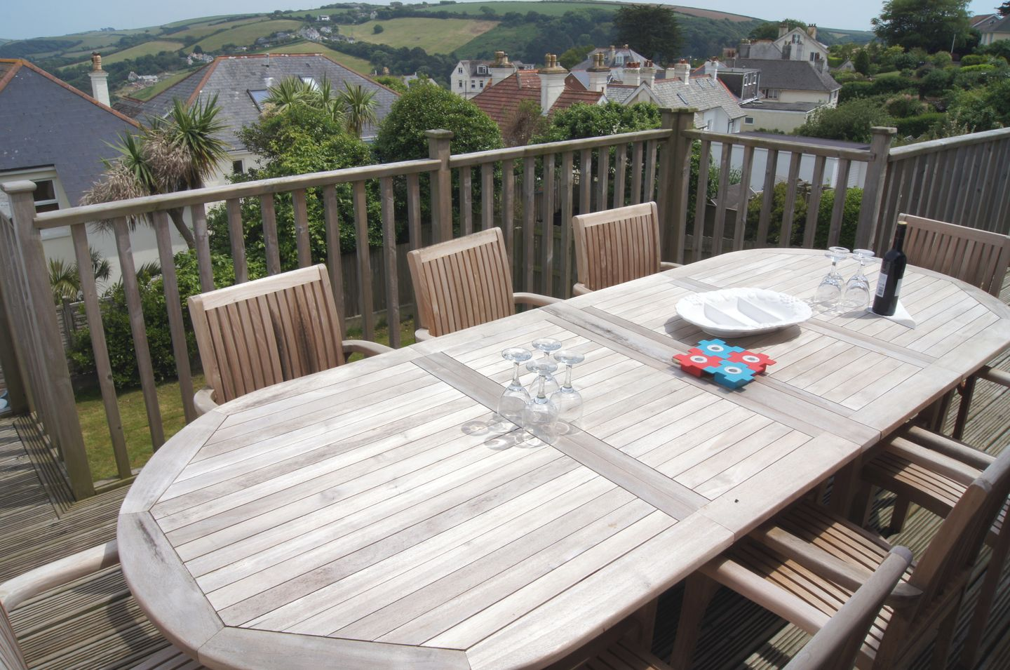 Firm Anchor Salcombe Patio With View