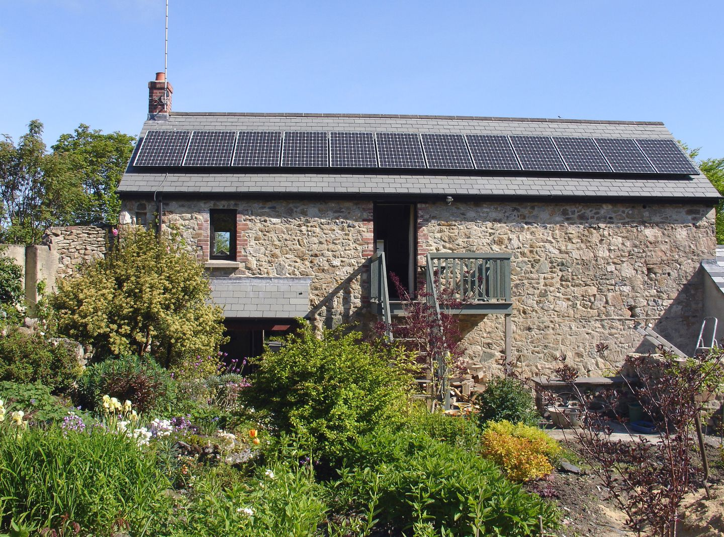 Gardeners Cottage South Zeal View From Ouside The Holiday Cottage