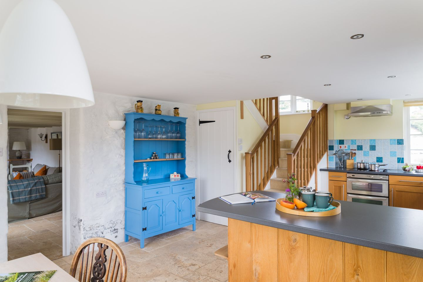 Island House Golant Kitchen