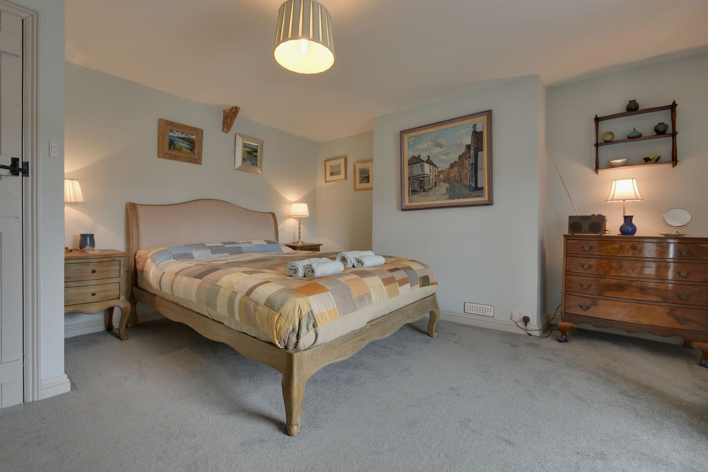 Kammneves Cottage Trelights Double Bedroom