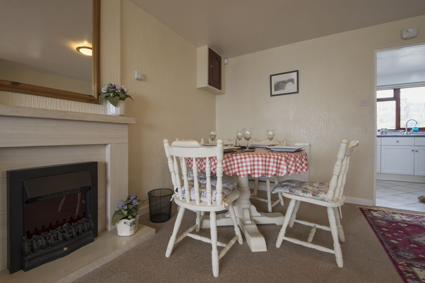 Kingswood Whitsand Bay Table By Fire