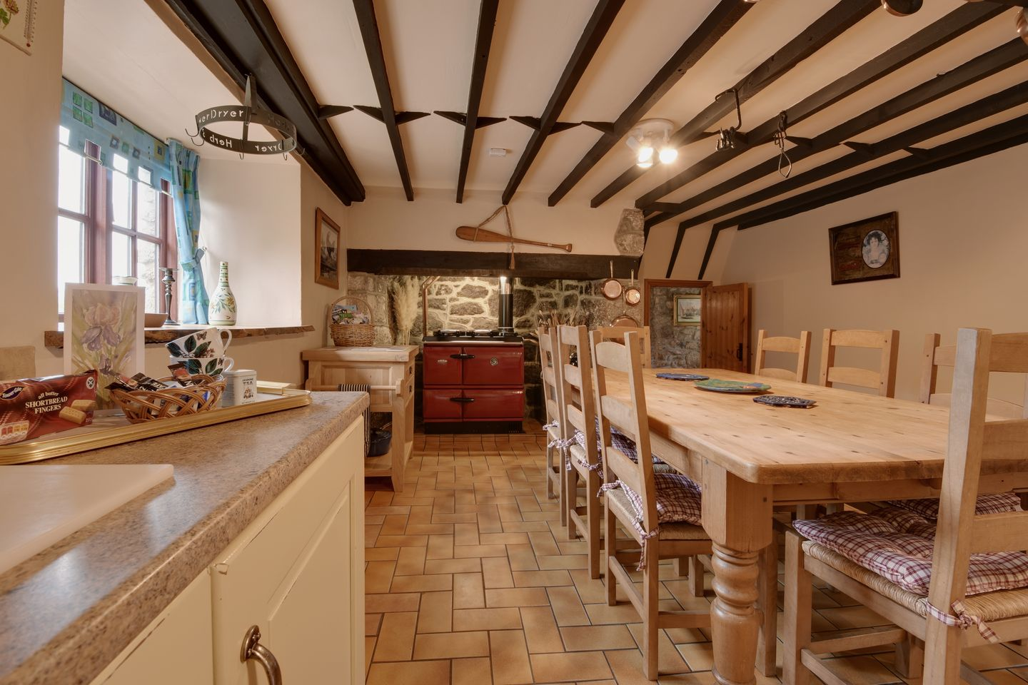 Lower Venton Chagford Kitchen Dining Room