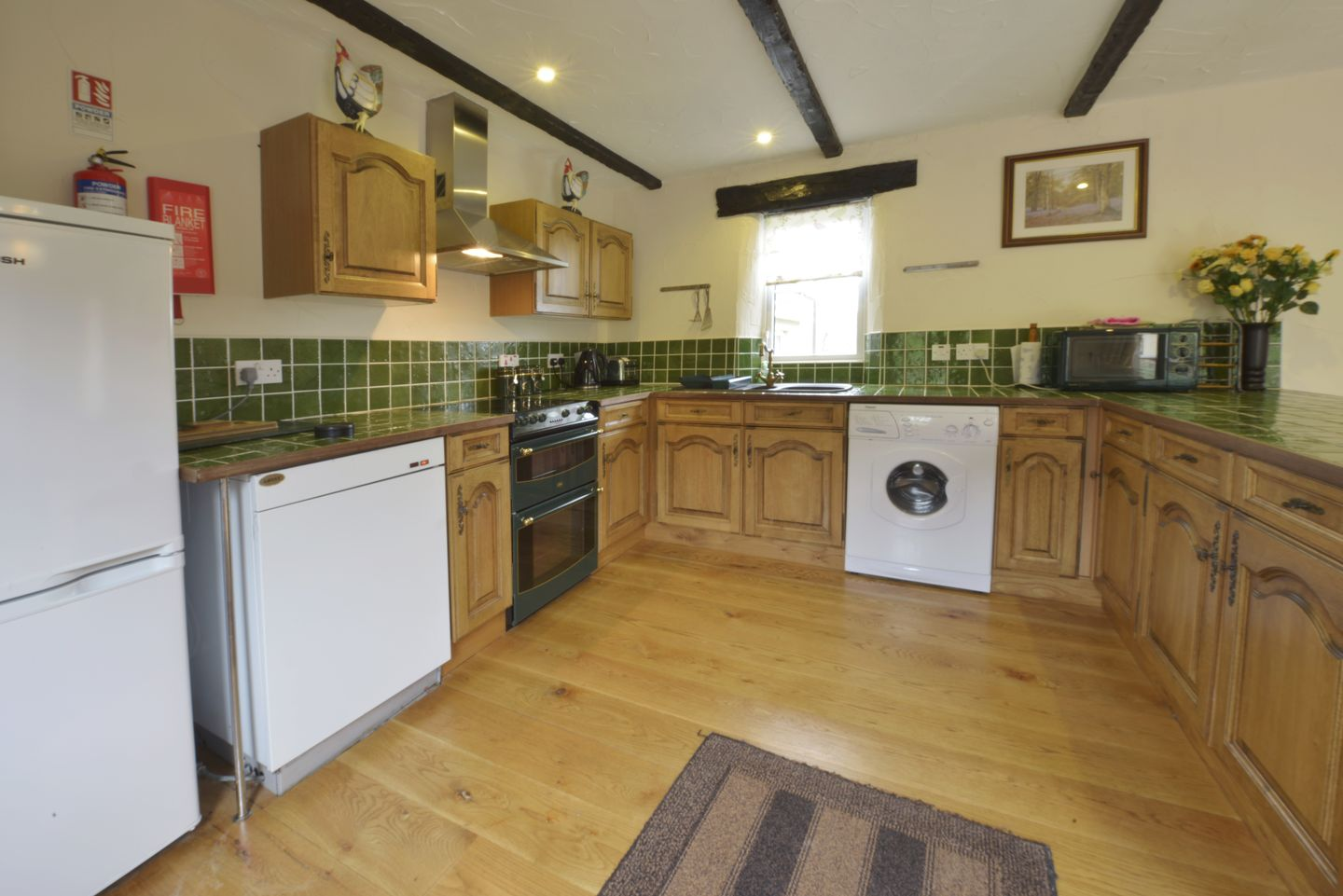 Lower Wadden Farmhouse Devon Annexe Kitchen