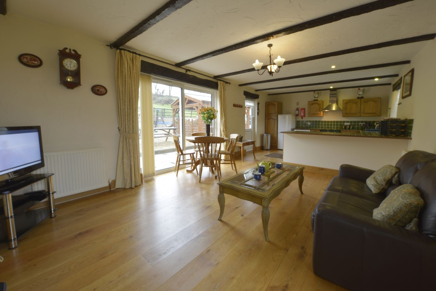 Lower Wadden Farmhouse Devon Annexe Lounge