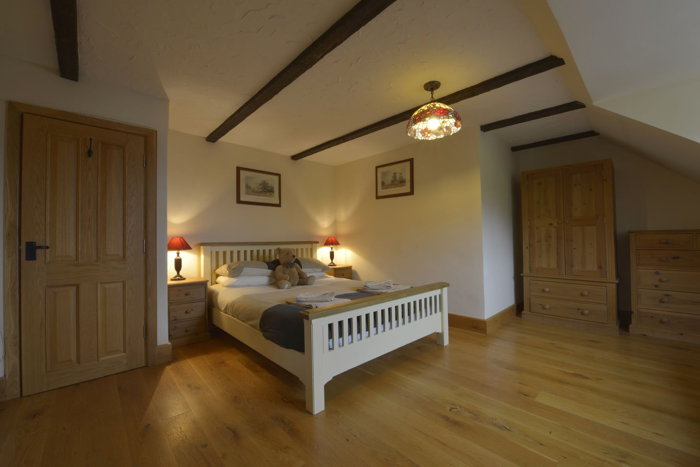 Lower Wadden Farmhouse Devon Bedroom