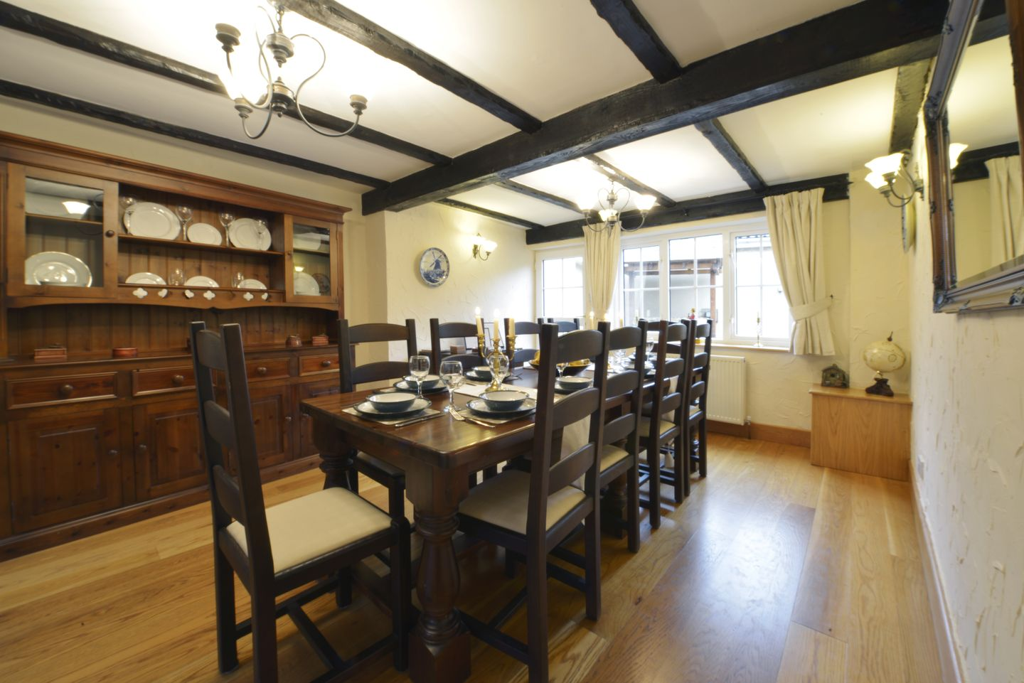 Lower Wadden Farmhouse Devon Dining Room