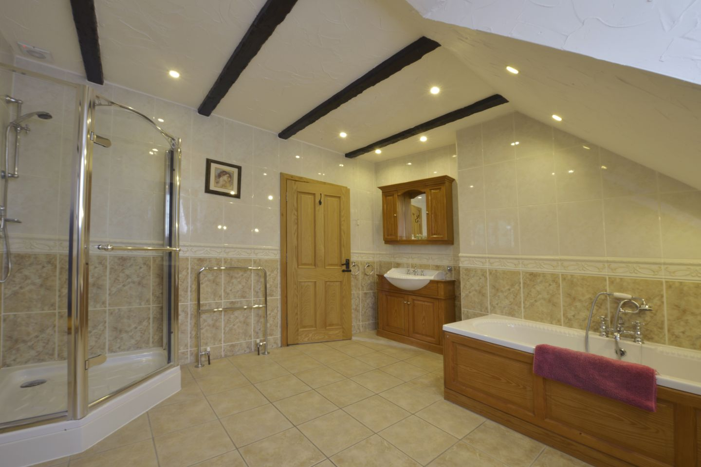 Lower Wadden Farmhouse Devon Family Bathroom