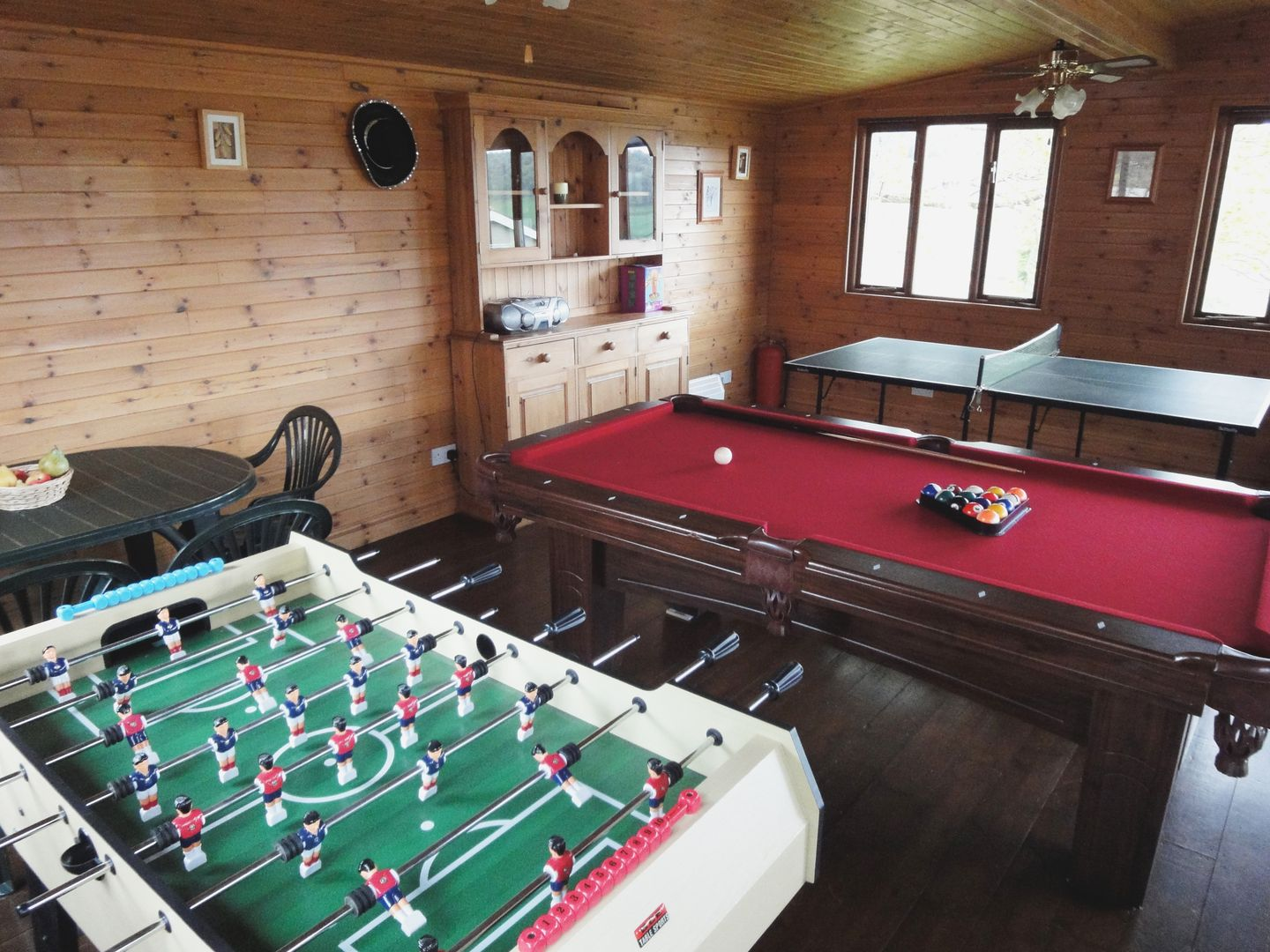 Lower Wadden Farmhouse Devon Games Room