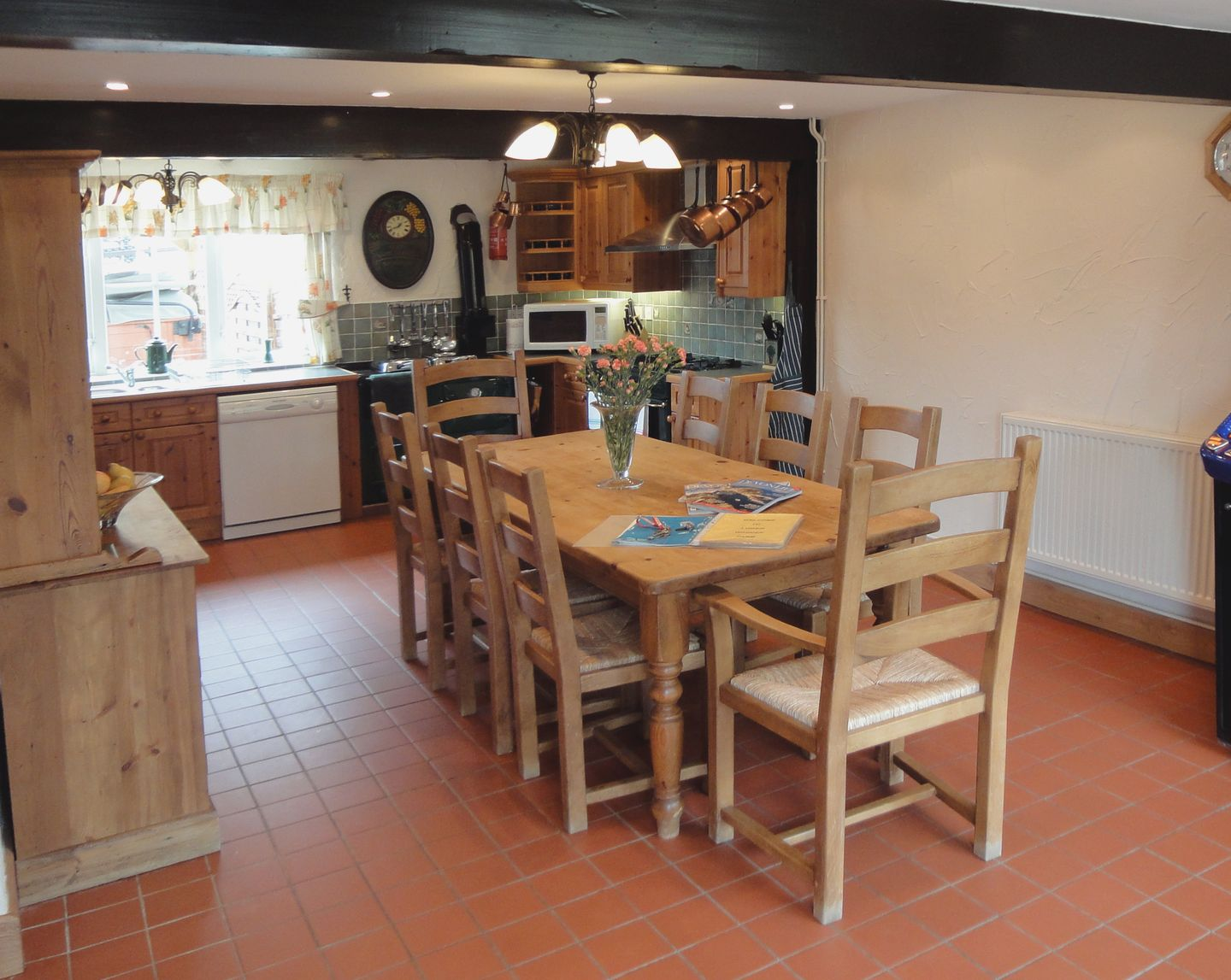 Lower Wadden Farmhouse Devon Kitchen