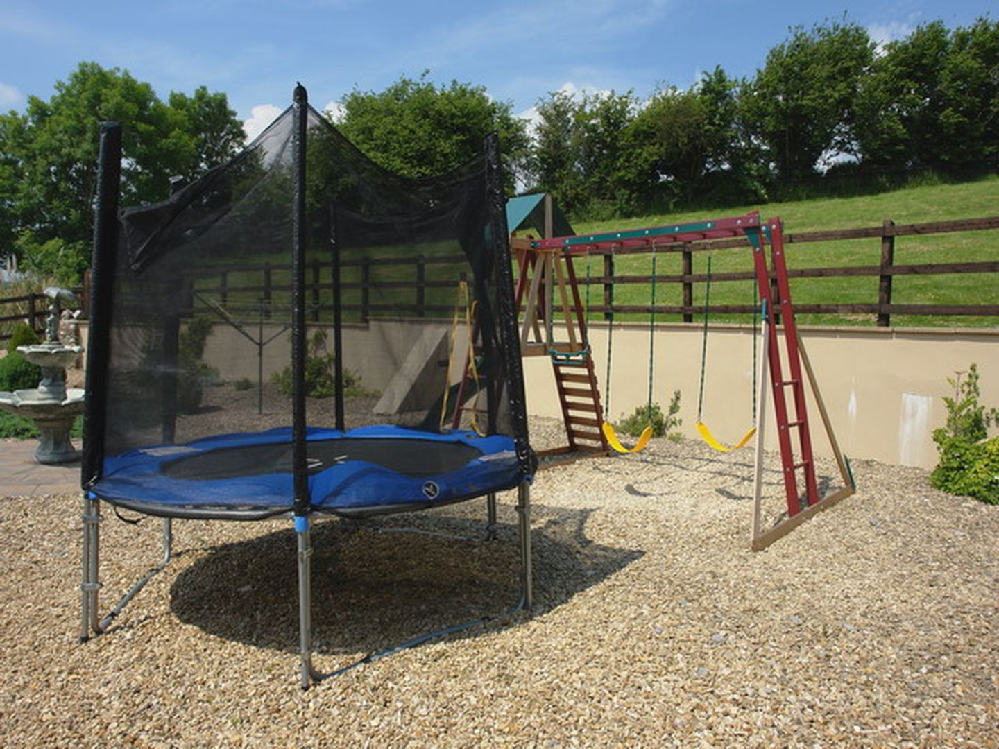 Lower Wadden Farmhouse Devon Play Area