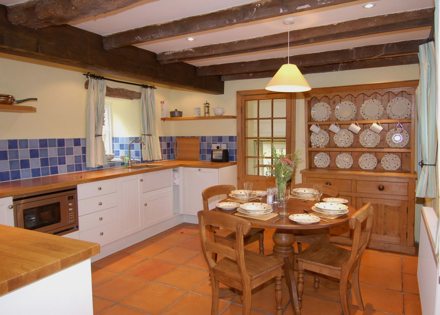 Lower Well Cottage Ugborough Kitchen