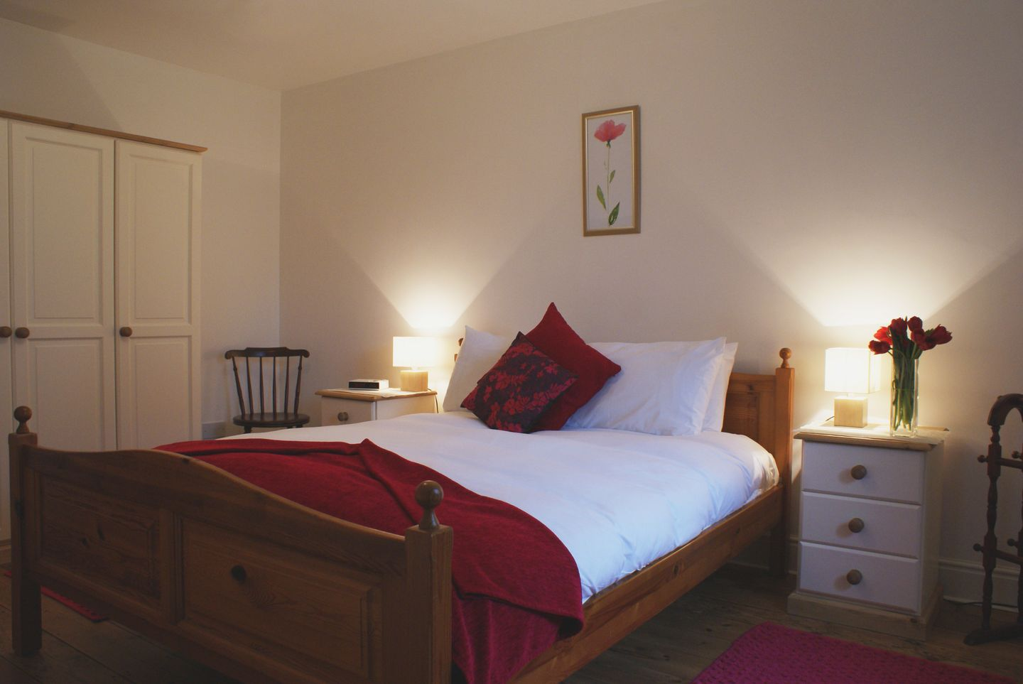 Ludgate Cottage Haytor Double Bedroom
