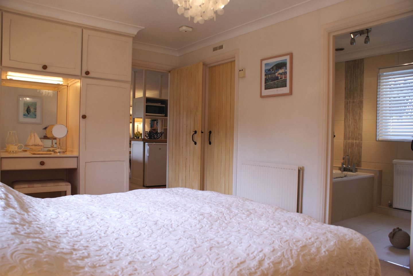 Lupin Holiday Cottage Sherford Double Bedroom