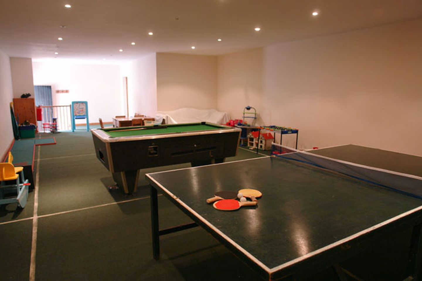 Lupin Holiday Cottage Sherford Games Room