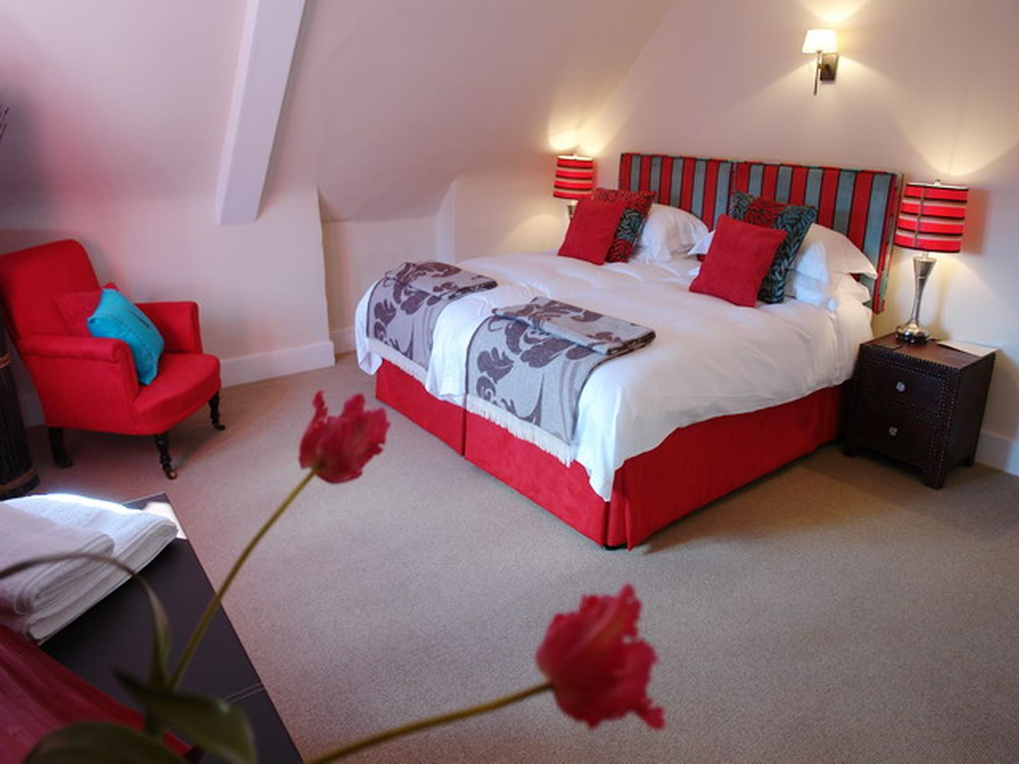 Maristow Barton Holiday Cottage Milton Combe Double Bedroom Four