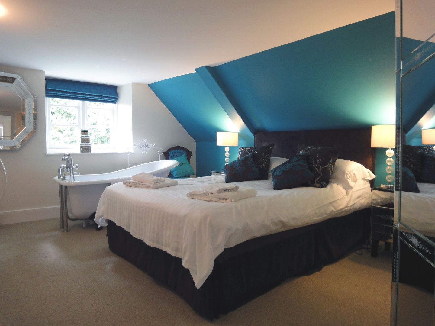 Maristow Barton Holiday Cottage Milton Combe Double Bedroom Seven