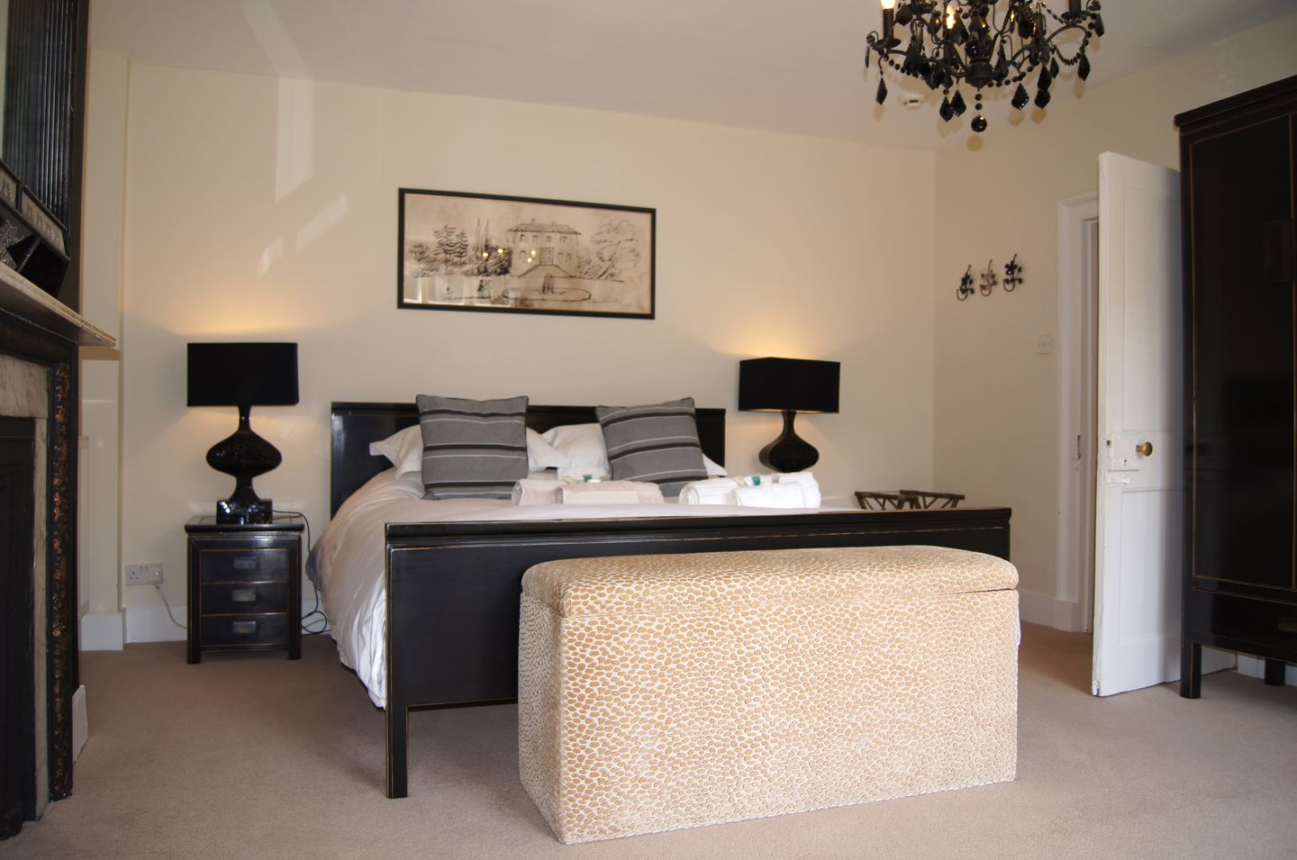 Maristow Barton Holiday Cottage Milton Combe Double Bedroom Two