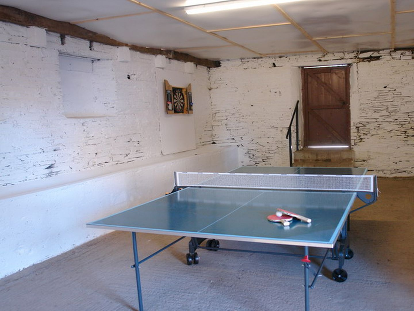 Maristow Barton Holiday Cottage Milton Combe Games Room