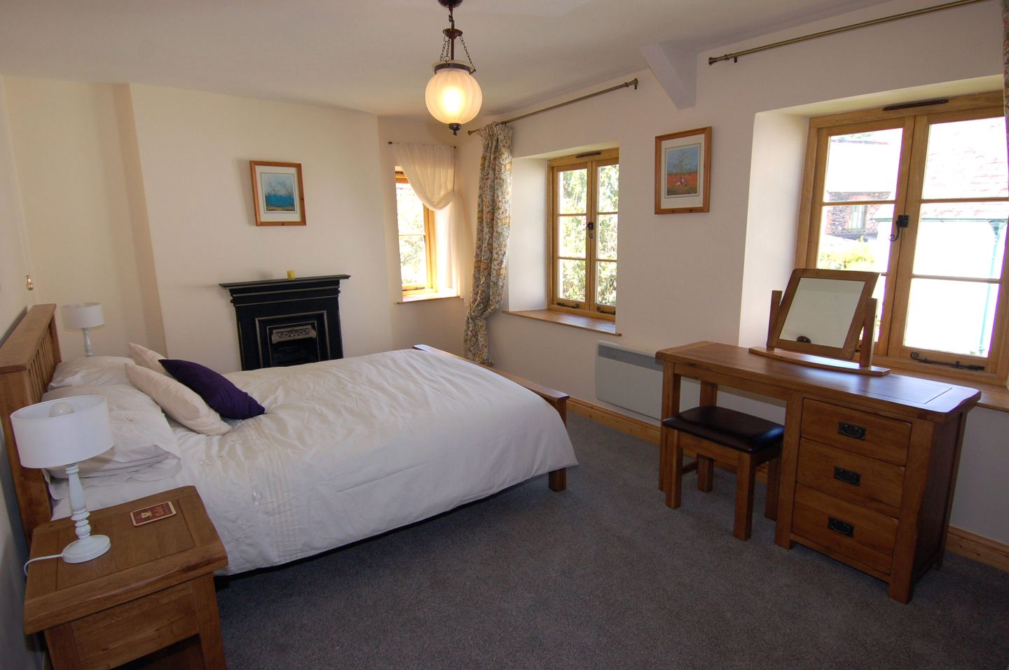 Marley Holiday Cottage Porlock Double Bedroom