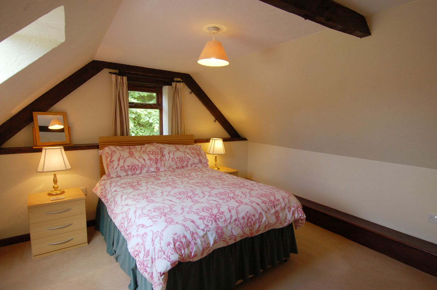 Mulberry Cottage Dunster Double Bedroom