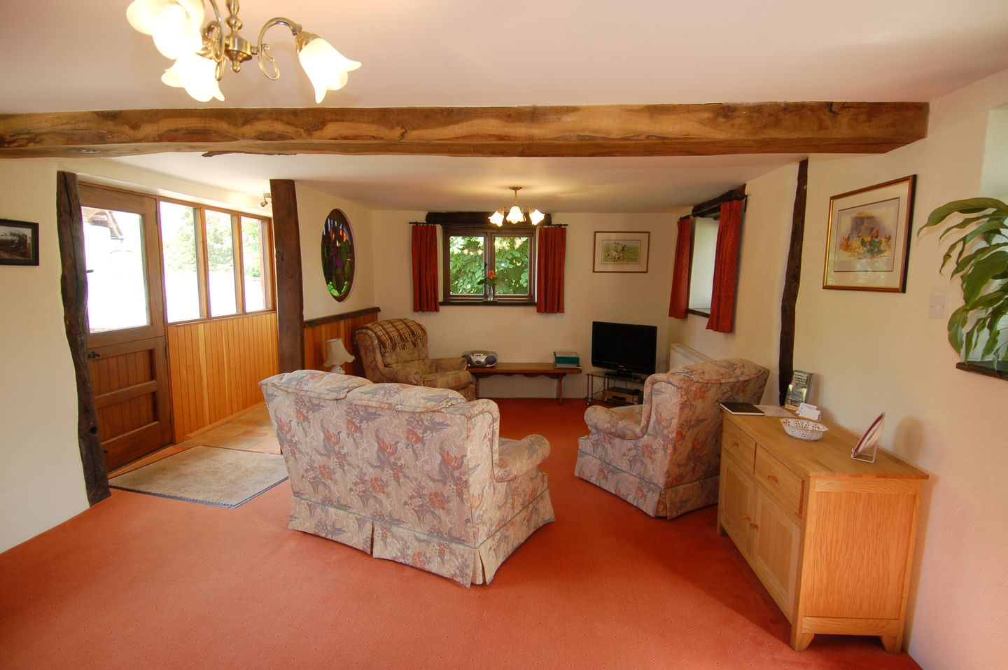 Mulberry Cottage Dunster Lounge