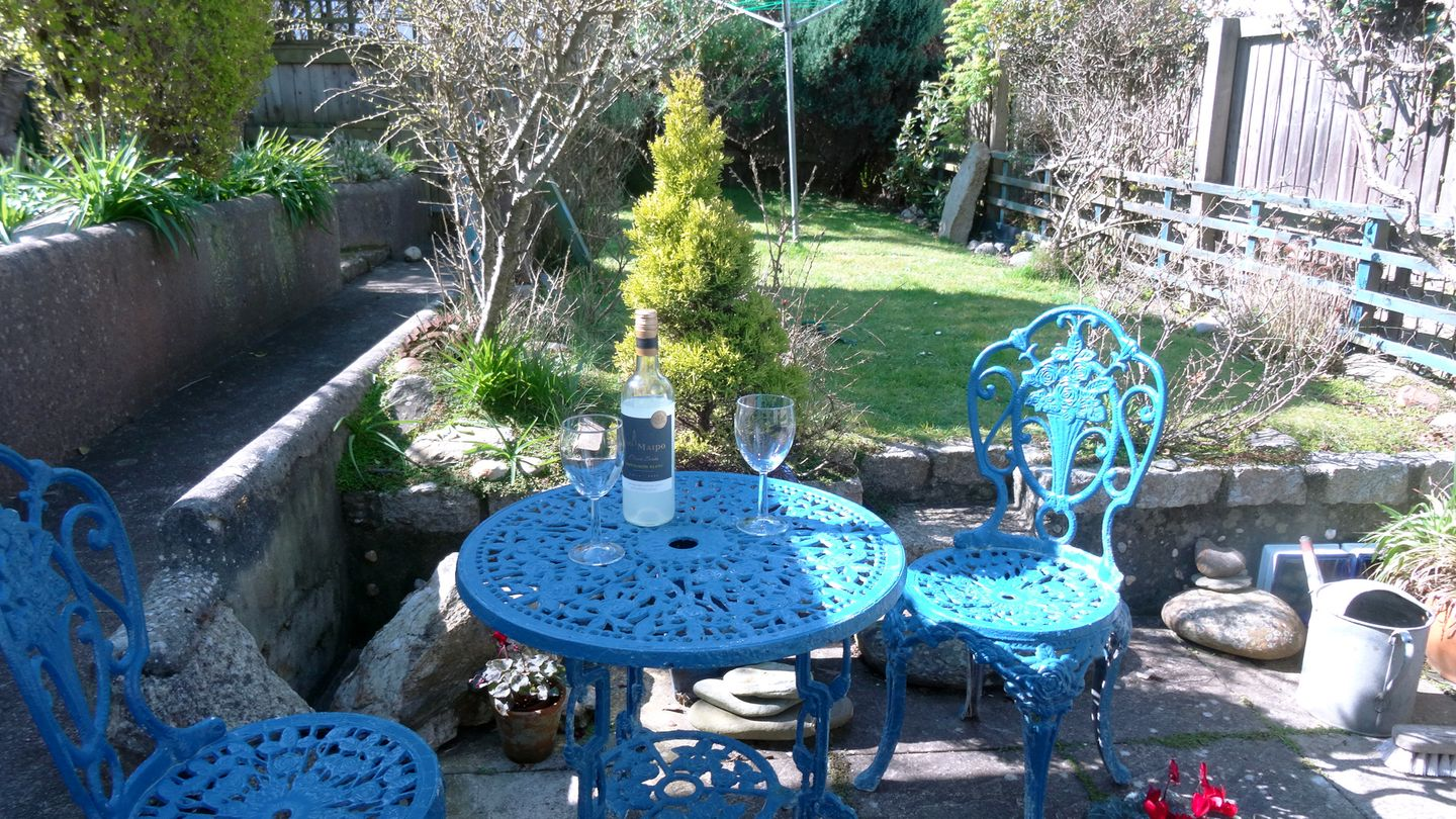 Prospect Cottage Porthleven Patio Garden