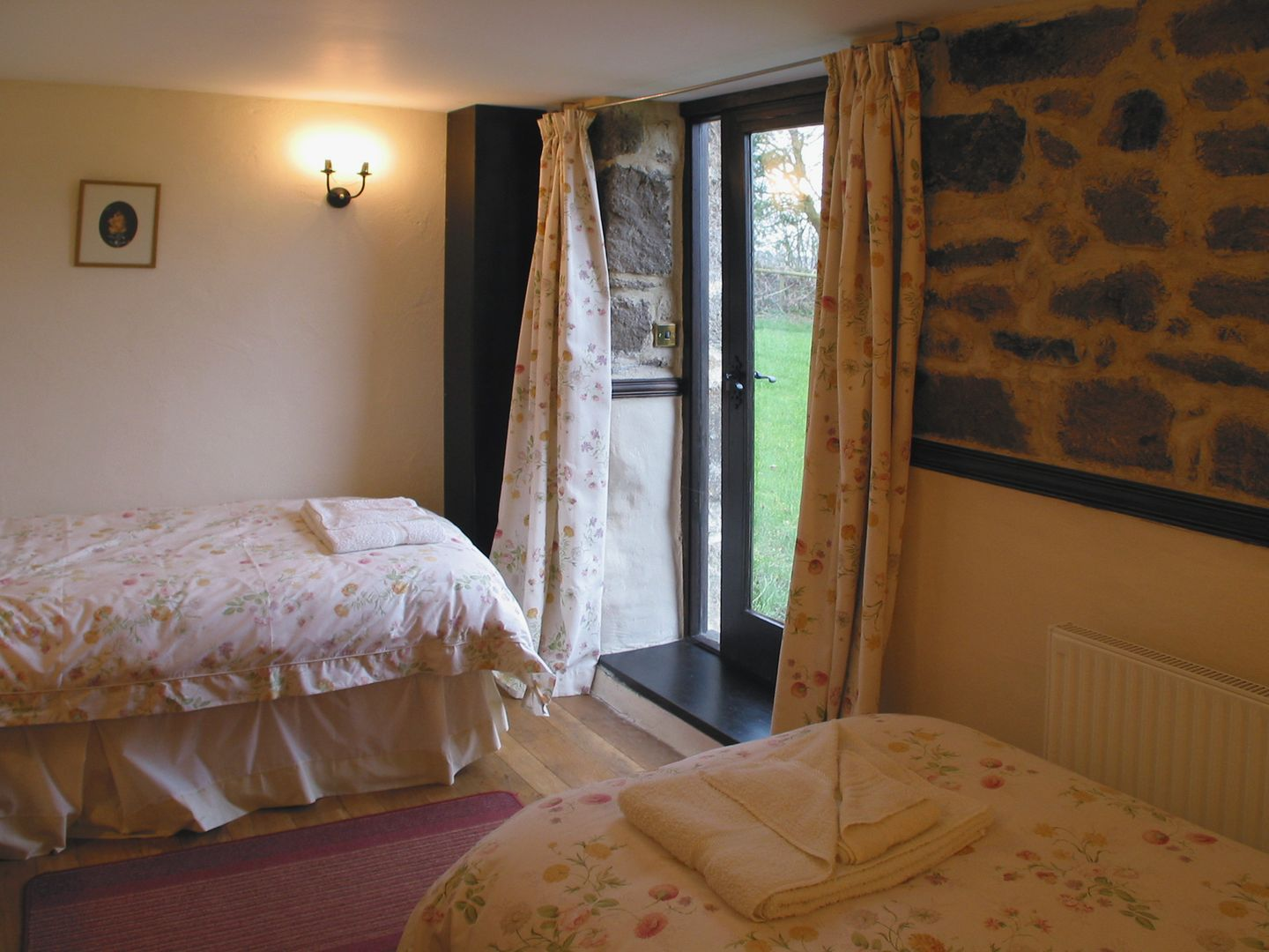 Rockmead Chagford Ground Floor Twin Bedroom