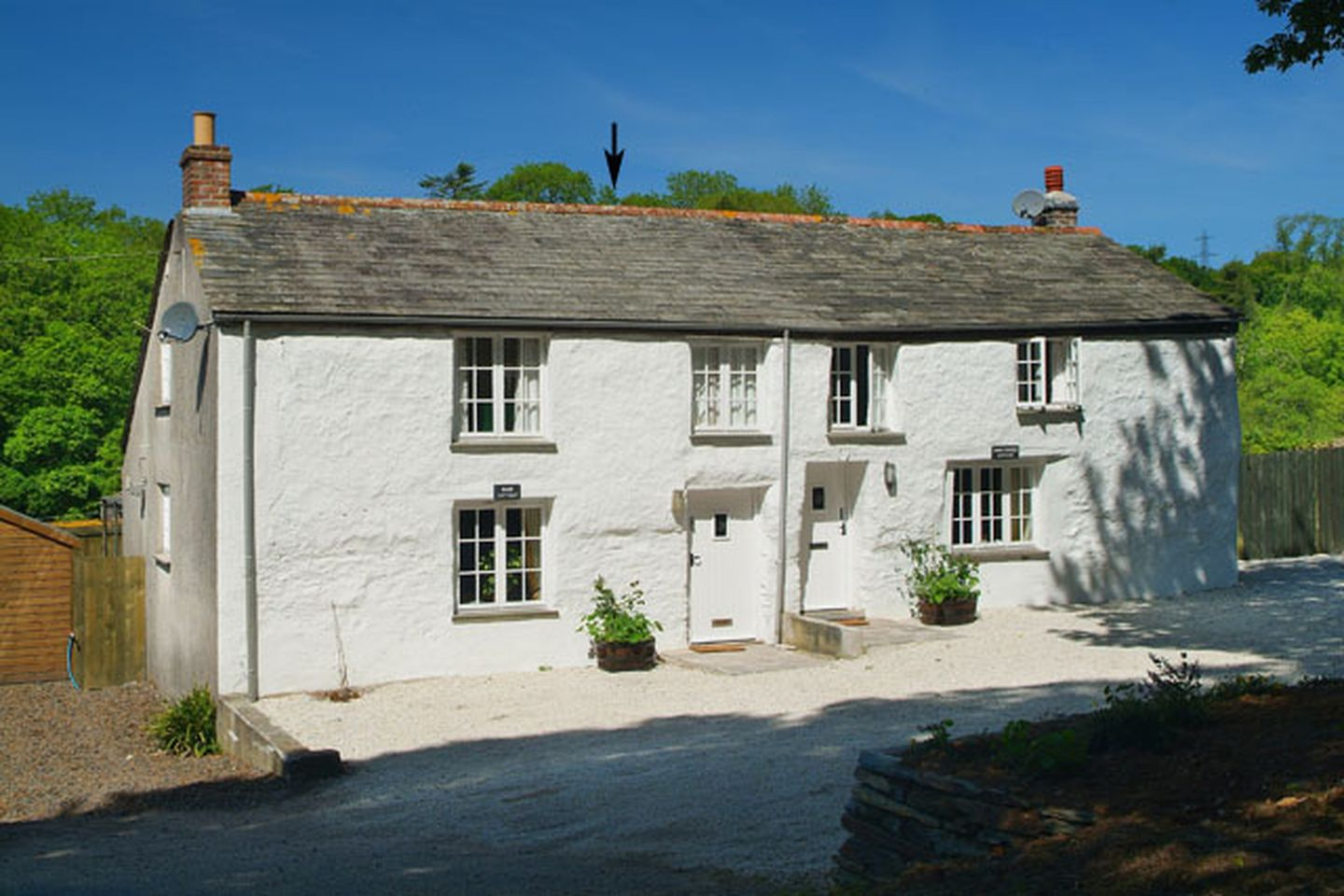 Holiday Cottage Reviews for Rose Cottage - Self Catering Property in St Tudy, Cornwall inc Scilly